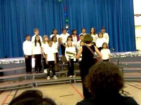 """""""Rockin' Robin"""" - Ocean View School 4th Grade Choir"""