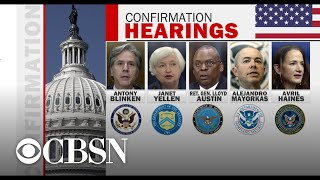 Senate starting confirmation hearings for Biden's cabinet nominees