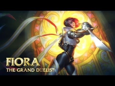 Fiora Guide – Cách chơi lên đồ Build cho Fiora