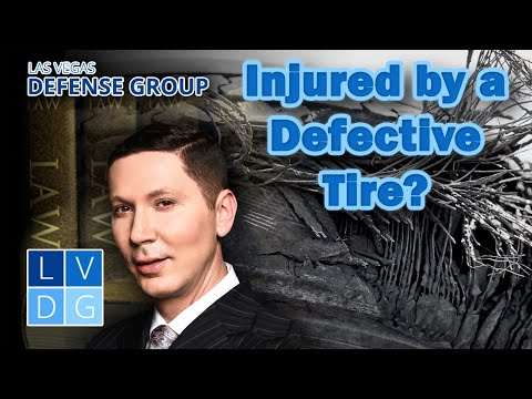 Injured by a defective tire? 3 parties you can sue