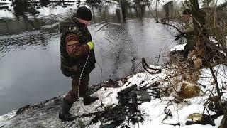 Рыбалка с поисковым магнитом