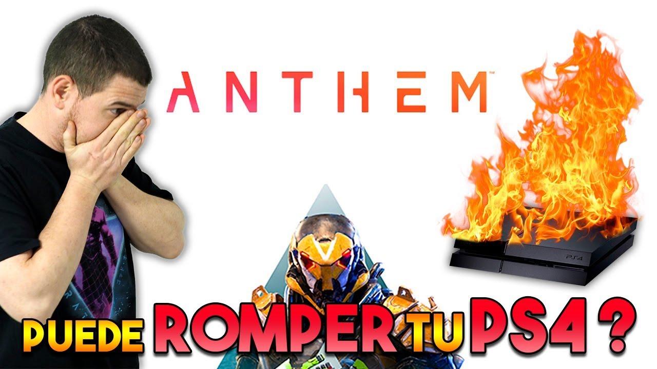 ANTHEM puede ROMPER tu PS4 !!!??? 🔥  AVISO IMPORTANTE !!! 😲
