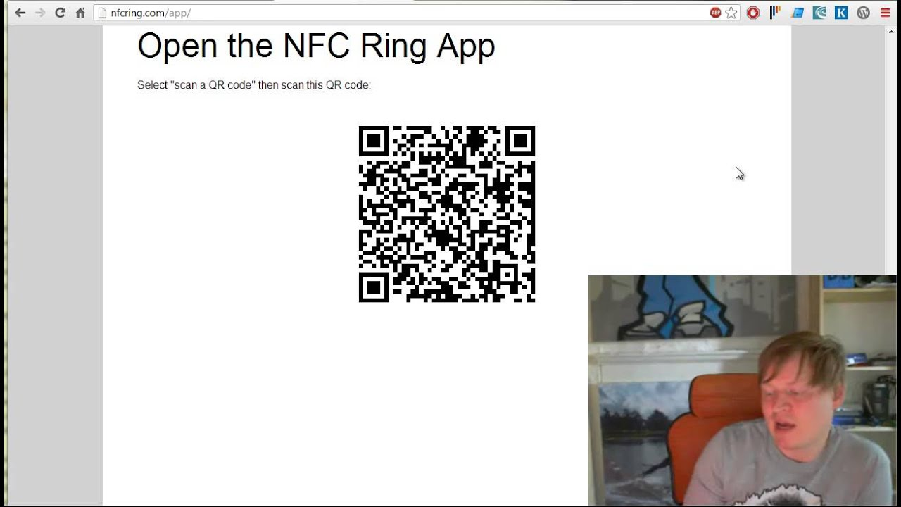 Using The NFC Ring with The Android App
