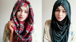 My Most Worn Everyday Hijab Look for long Time | Pari ZaaD