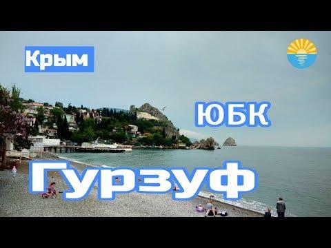 Крым 2019. ЮБК. Гурзуф. Море, пляж, цены, домик Чехова.