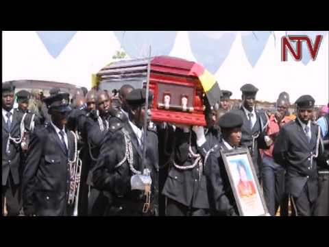 Hundreds gather for burial of Moroto Woman MP, Annie Logiel