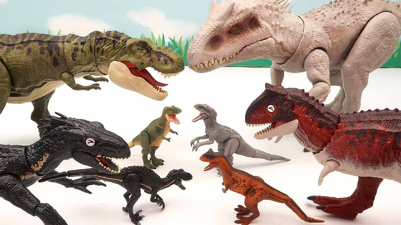 BIG Dinosaurs VS Small Dinosaurs! Tyrannosaurus, Pteranodon.