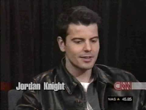 Joey McIntyre / Jordan Knight -  1999 - CNN Entertainment News