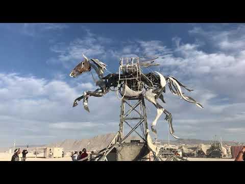 Wings of Glory by Adrian Landon - Burning Man 2019