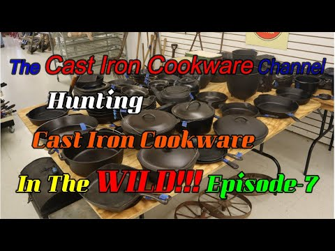 Hunting Cast Iron Cookware In The WILD!!! Episode-7