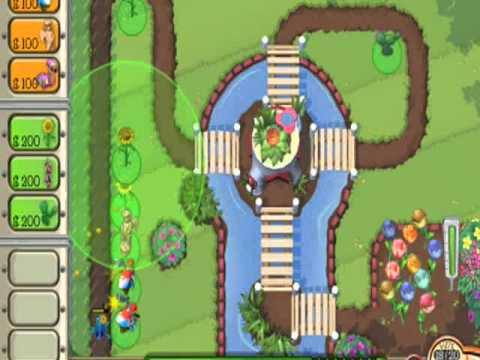 Lets Play Garden Defense Part 1 YouTube