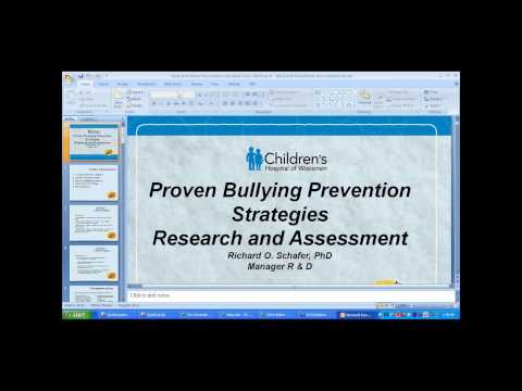 Proven Bullying Prevention Strategies Part II: Evaluating School Programs