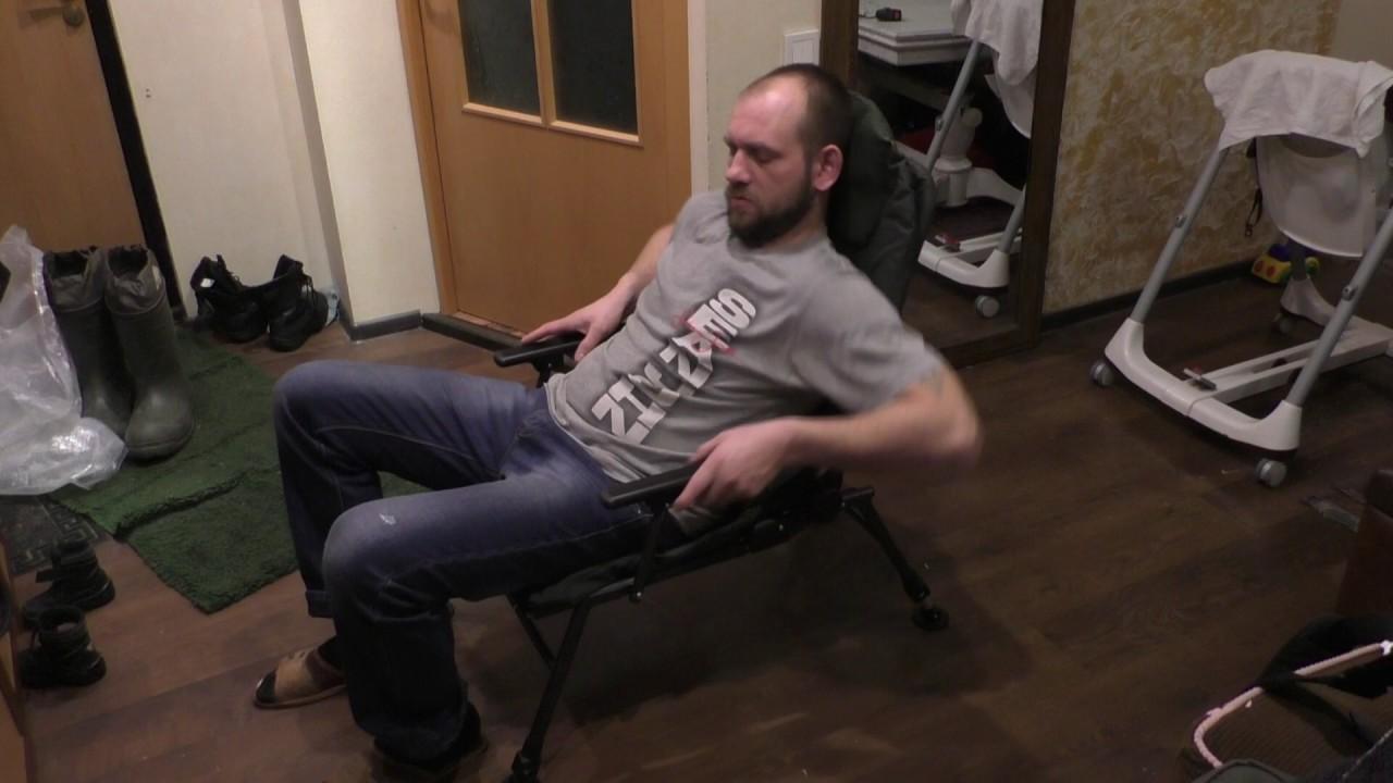 Кресла для рыбалки FK1 FK2 - YouTube