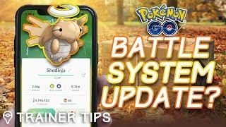 POKÉMON GO BATTLE SYSTEM UPDATE? Will Shedinja Bring Abilities to Pokémon GO?