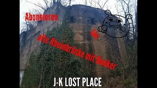 Lost#Place #Die #Hindenburgbrücke Bunker