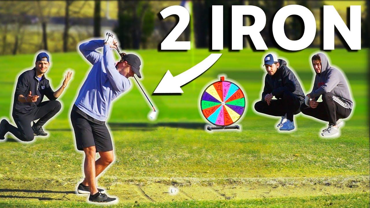 2v2 Random Golf Club Challenge | Wheel Of Not Ideal