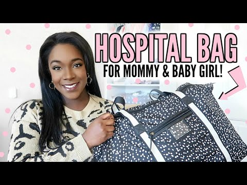 WHAT'S IN MY HOSPITAL BAG FOR LABOR & DELIVERY 2020 | SECOND BABY | Krista Bowman Ruth