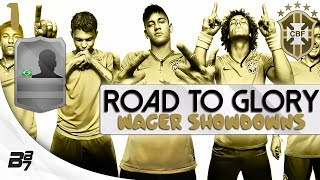 ROAD TO GLORY WAGER MATCHES BRAZIL   THE START! #1   FIFA 14 UT