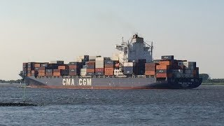 [0D] Mighty Ships Pt. 3: Cargo and Container Ships Near Hamburg, Germany, May 2014 ©mbmars01