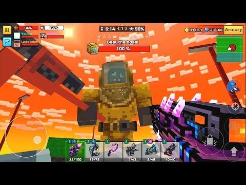 Pixel Gun 3D | All Bosses Raid