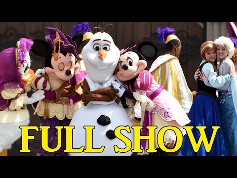 FULL Mickey's Royal Friendship Faire Show at Magic Kingdom, Disney World w/New Mickey & Minnie Look