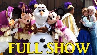 FULL Mickey's Royal Friendship Faire Show at Magic Kingdom, Disney World w/New Mickey & Minnie Look