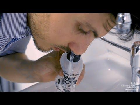 UHS ENT nasal treatment demonstration