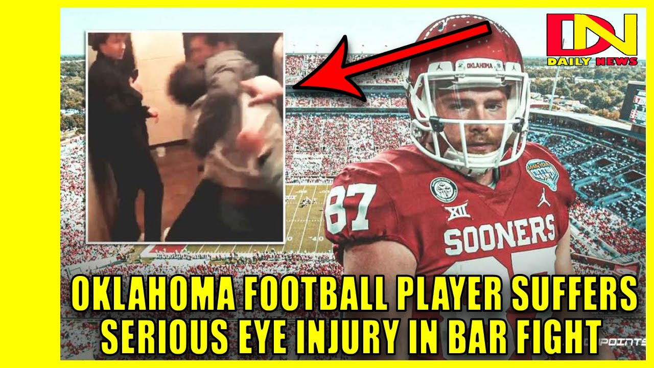 Spencer Jones, Oklahoma receiver, nearly loses eye after bar ...