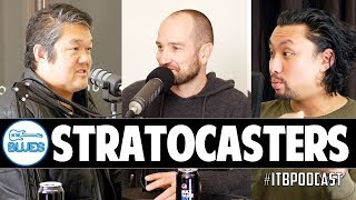 Are Stratocaster Guitars Harder to Play? (Ric, Ryan, and Shane) - ITB Podcast