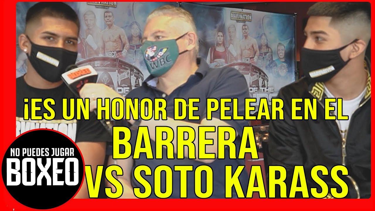 ÁNGEL RODRÍGUEZ - ¡Es un HONOR PELEAR en el BARRERA vs. SOTO KARASS! #barrerakarass