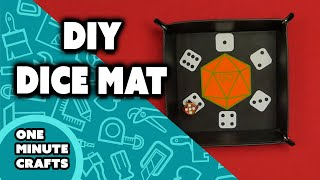 DIY DICE MAT - One Minute Crafts