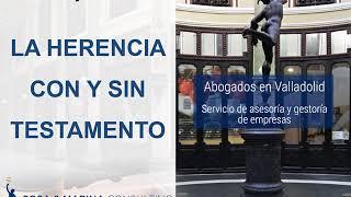 """🔵CONSECUENCIAS DE LA HERENCIA CON Y SIN TESTAMENTO ▶ """"las 2 SOLUCIONES"""""""