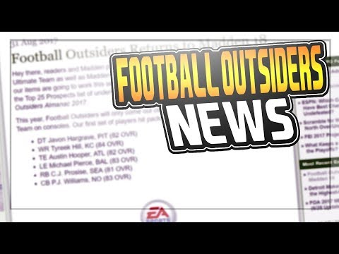MUT 18 FOOTBALL OUTSIDERS ARE NOW ONCE A MONTH!?!? | MADDEN 18 ULTIMATE TEAM
