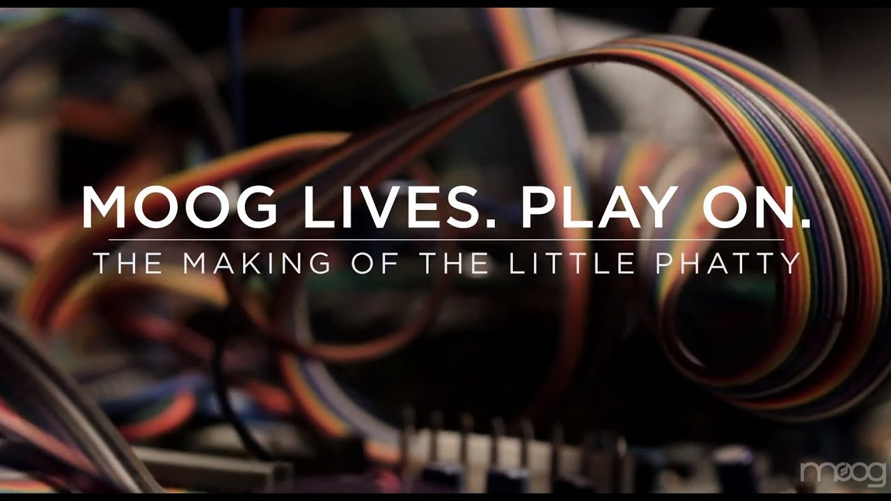 MOOG LIVES. PLAY ON. | The Making of the Little Phatty