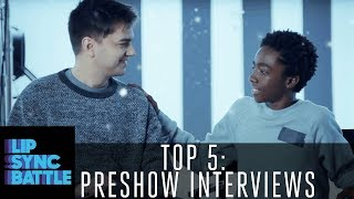 Top 5 Preshow Interviews: From the