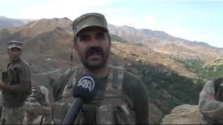 Koruculardan PKK'ya rest