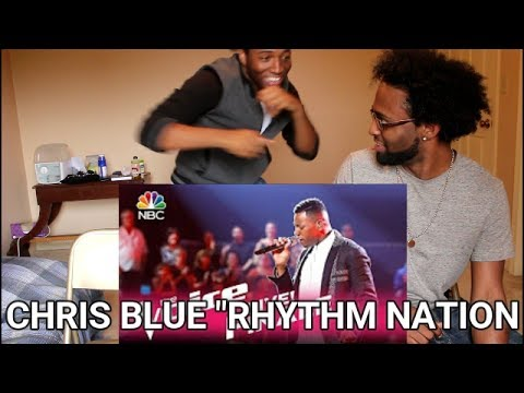 "The Voice 2017 Chris Blue - Finale: ""Rhythm Nation"" (REACTION)"