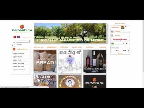 How to order online organic grocery