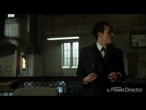 Готэм.Первая встреча Эдварда Нигмы и Пингвина.1 сезон 15 серия.