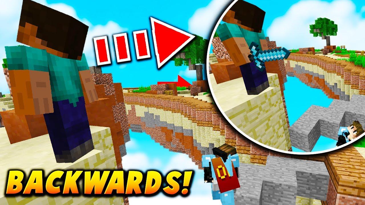 Minecraft Skins Backwards - Muat Turun l
