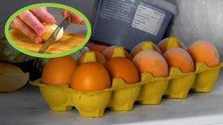 You'll Be Storing Your Eggs In The Freezer From Now On