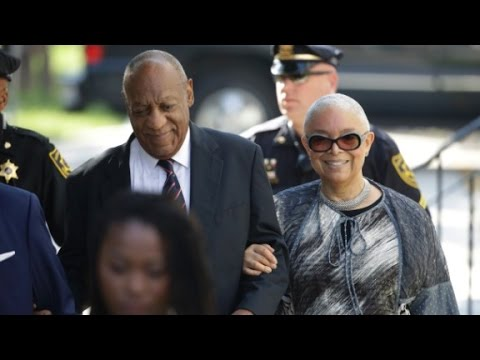 Cosby's wife slams judge, media