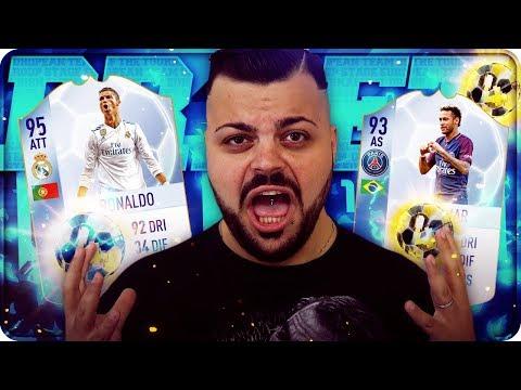 PROVIAMO CRISTIANO RONALDO & NEYMAR TOTGS !!! [FIFA 18