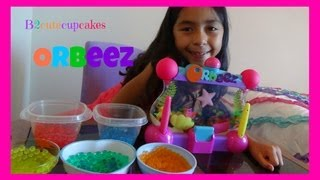 One of B2cuteCupcakes's most viewed videos: ORbeez Light-up Aquarium Review and Play