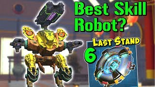 Best Skill Bot in War Robots? Mk2 Maxed Glory Halo Strider & Last Stand WR
