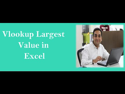 Vlookup With Max to Lookup Highest Value
