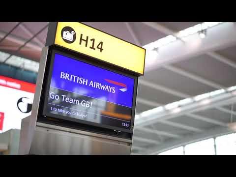 Tom Mitchell Team GB and British Airways 60 second challenge
