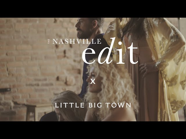 BTS | Little Big Town Cover Shoot | The Nashville Edit