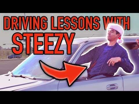 Steezy Learns How To Drive