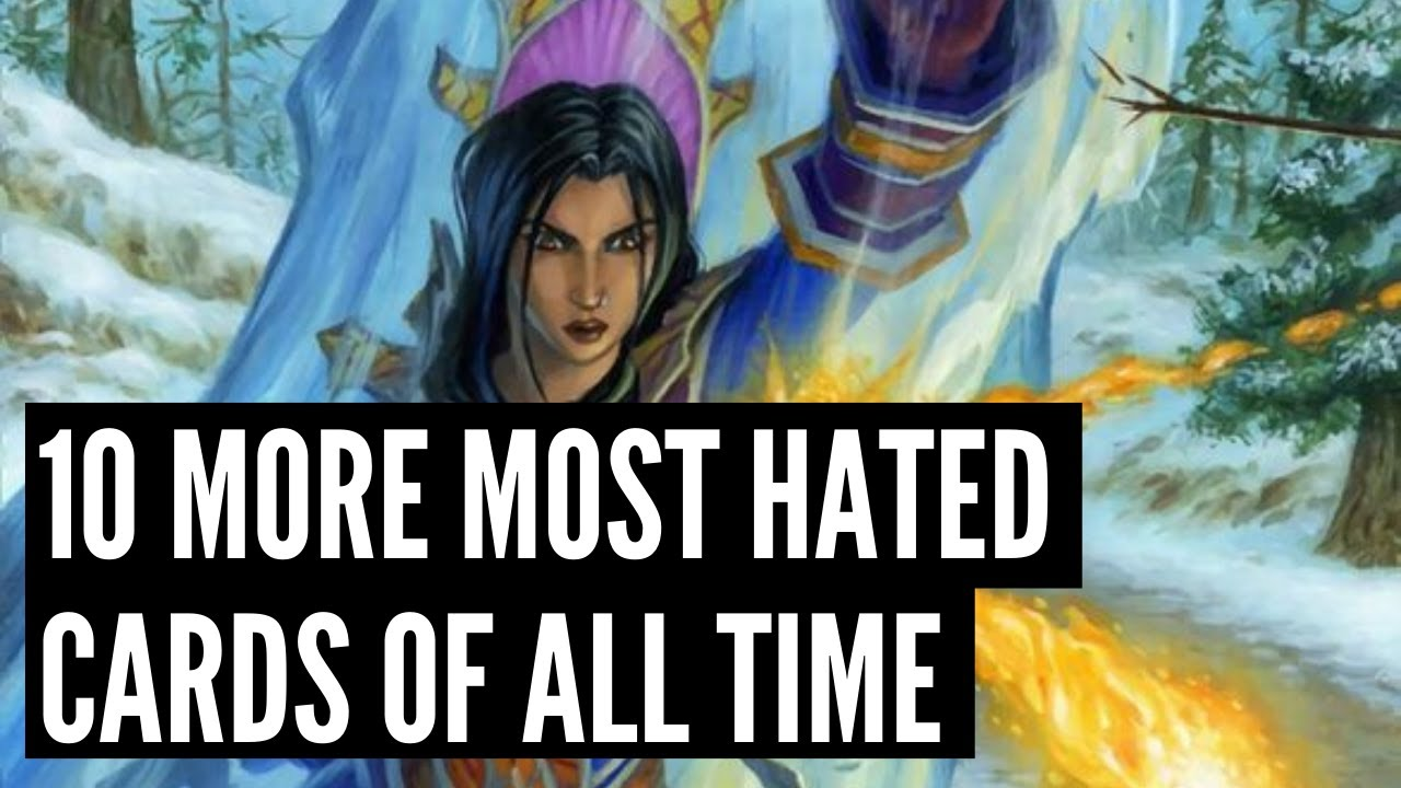 10 More of the most HATED cards in Hearthstone history! | Darkmoon Faire | Hearthstone